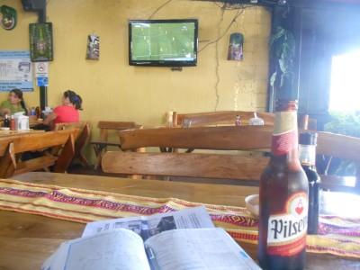 Salvadorian Pilsener Beer.