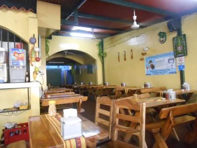 Great decor in Sopon Tipico.