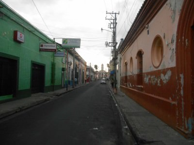 Colourful streets of Santa Ana