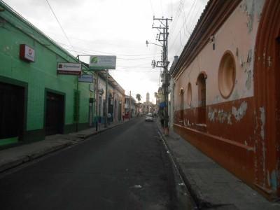 Colourful streets of Santa Ana