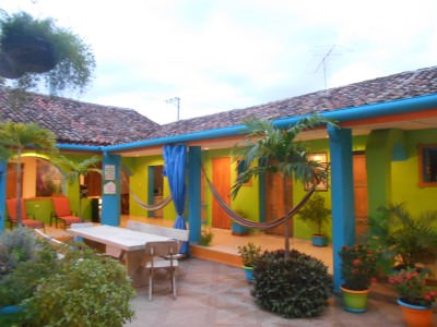 Hostal Casa Verde - voted the best hostel in El Salvador