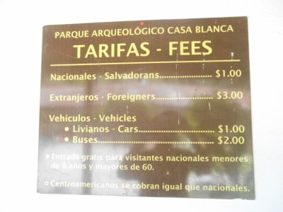 The price to get into Casa Blanca is $3.