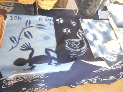 Just some of the cool fabric that Liset and the team here can make.