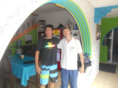 Carlos and I at Casa Verde.