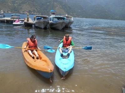 kayaking lago atitlan
