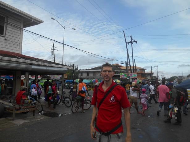 Backpacking in Guyana: Parika