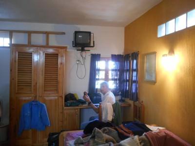 Wow! Im in a Writer's Lair blogging away - Posada Los Encuentros.