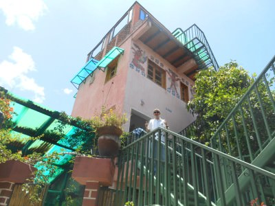Staying in the Writer's Lair - Posada Los Encuentros, Panajachel.