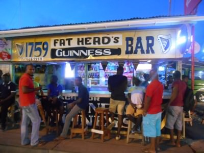 Fat Heads Bar, Parika, Guyana.