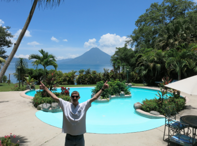 Our amazing night of relaxation at Hotel San Buenaventura Panajachel, Guatemala.