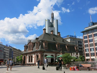 Backpacking in Germany: Exploring Frankfurt