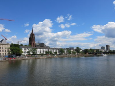 Backpacking in Germany - Frankfurt