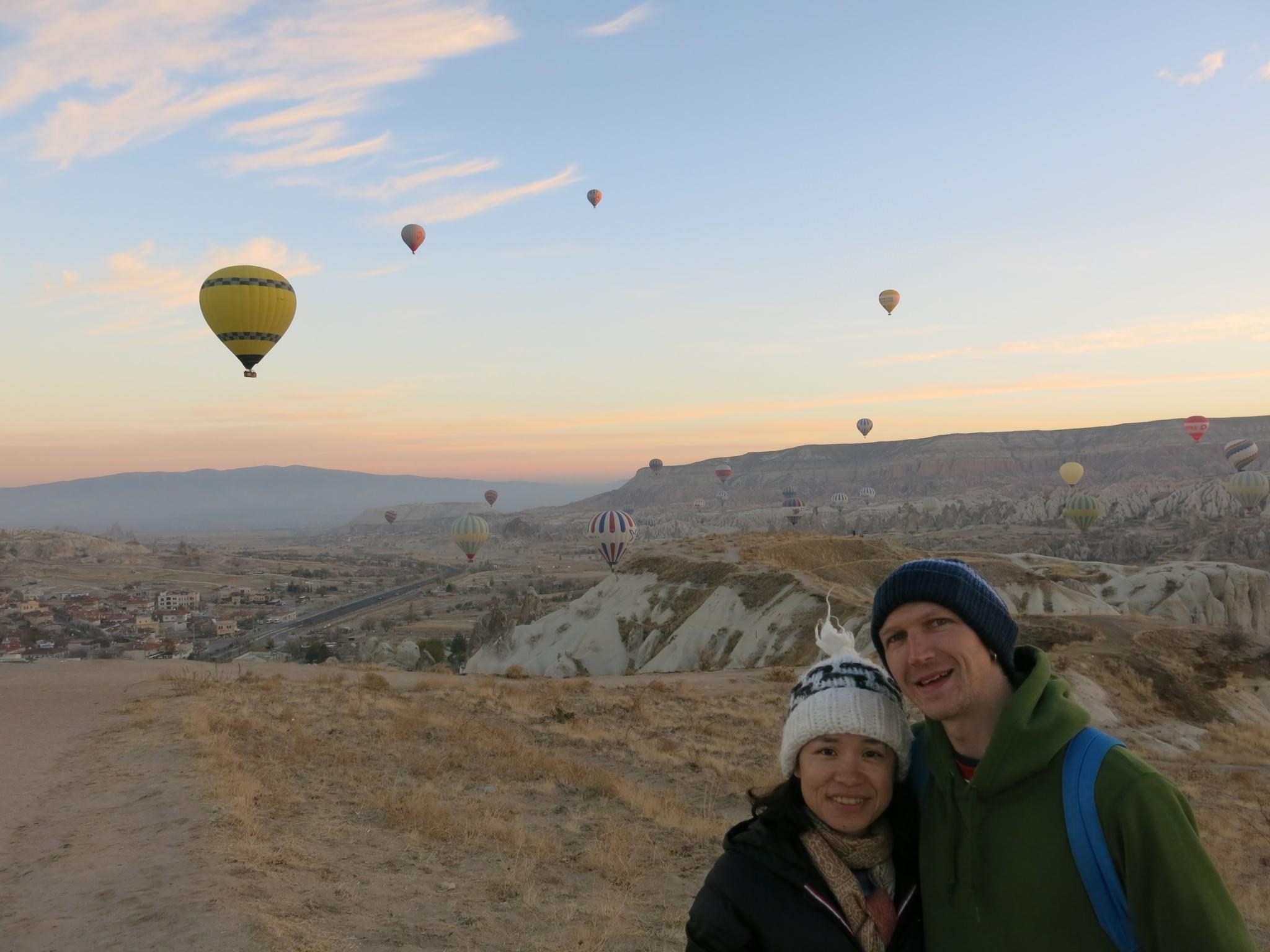 Sunrise In Cappadocia Turkey