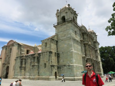 Main Cathedral in Oaxaca de Juarez.