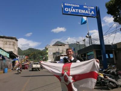 Arrival in La Mesilla in Guatemala.