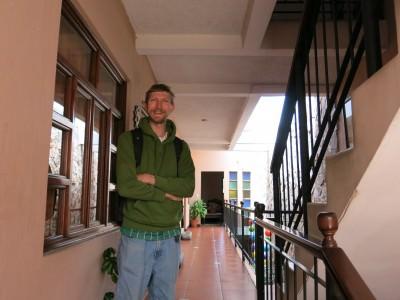 Loving the Hostal 7 Orejas in Xela, Guatemala