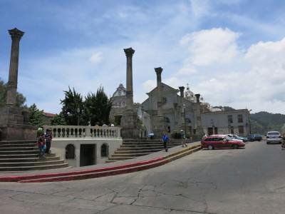 Parque Centro America in Quetzaltenango, Guatemala.