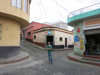 At the 7 corners in Xela (you can only see 3 of them here though!)