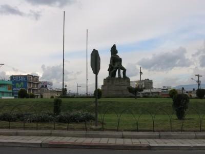 Tecun Uman Statue.