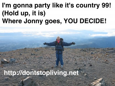 It's up to you to decide where I end up for country 99!