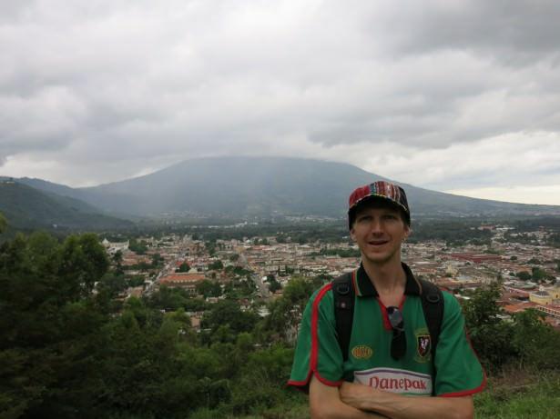 Backpacking in Antigua, Guatemala.