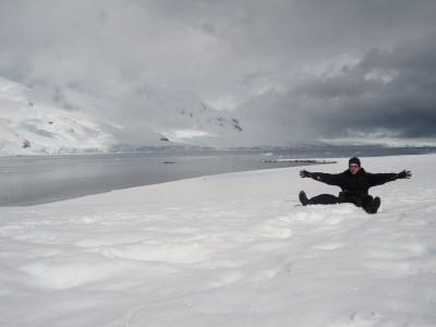 Enjoy the freedom of being offline while backpacking in Antarctica