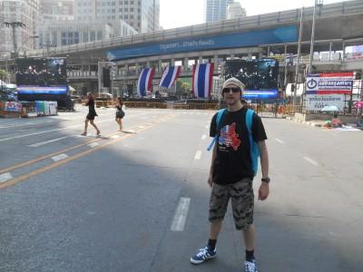 Backpacking in Bangkok..