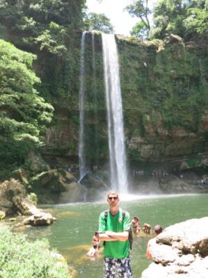 Misol Ha waterfalls.