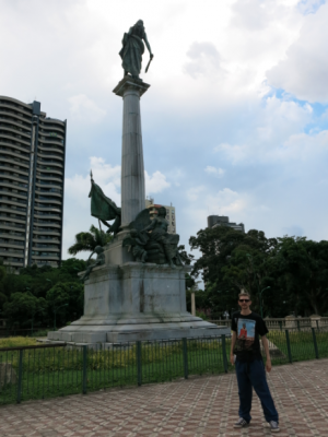Republic Square, Belem, Brazil.