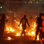 Fire ball festival/Bolas del Fuego, Nejapa, El Salvador **