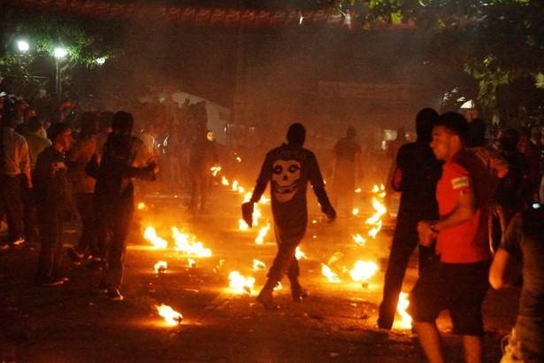 Fire ball festival/Bolas del Fuego, Nejapa, El Salvador