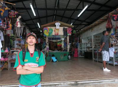 Backpacking San Pedro Sula Honduras Arts Market