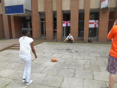 Our pelanty shoot out in Borough.