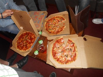 Pizzas in Borough
