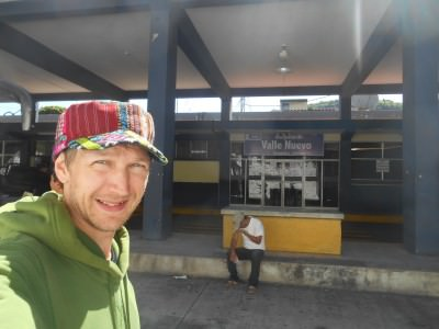 Goodbye Guatemala at Valle Nuevo.