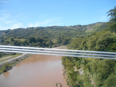 The river that separates Guatemala from El Salvador