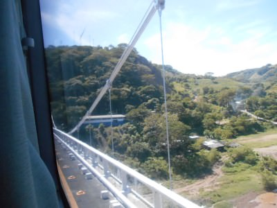 The bridge between Guatemala from El Salvador