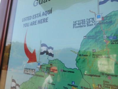 Where we arrived - Las Chinamas.