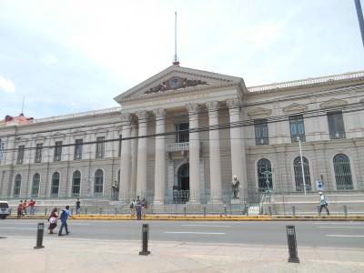 The palace in San Salvador.