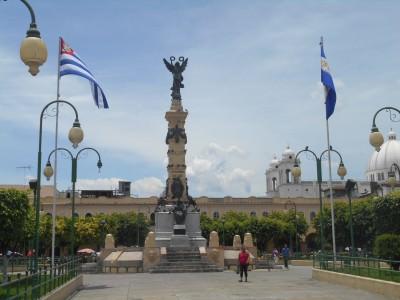Backpacking in El Salvador - Parque Libertad, San Salvador