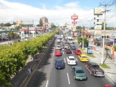 Round the corner from Boulevard de los Heroes.