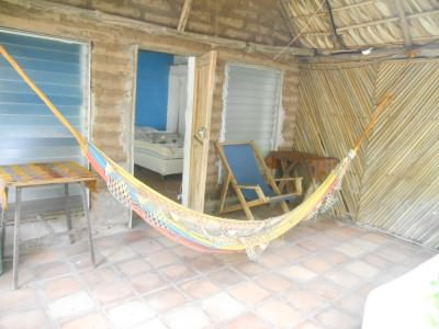 Lie in a hammock and relax - no TVs here ;-)