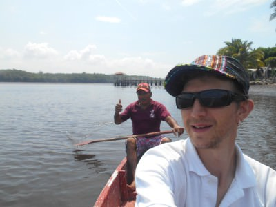 About to head into the Mangrove Forest area with Julio.