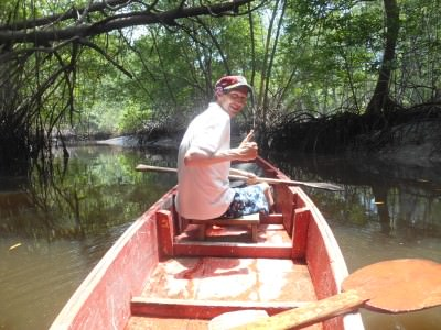 On the Mangrove Forest Tour.