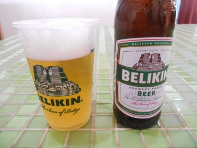 Belikin Beers in Belize recently - 25 cents back on every bottle ;-)
