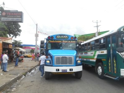 Bus to Tazumal, well to Chalchuapa.