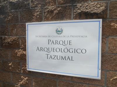 Tazumal entrance