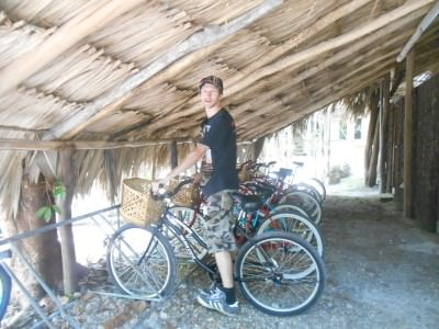 Bike rental is complimentary for guests.