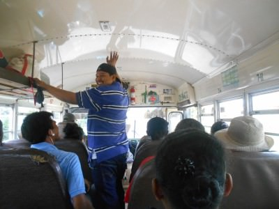 Bus from Belmopan to Teakettle
