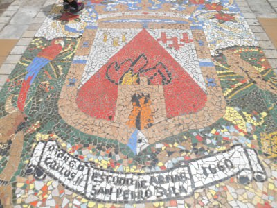 Mosaic at Parque Central, San Pedro Sula